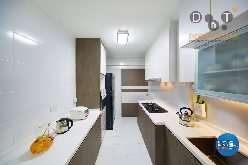 Others Design - Kitchen - HDB 4 Room - Design by Dots n Tots Interior Pte Ltd