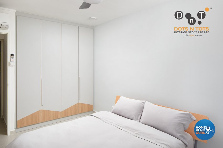 Minimalist Design - Bedroom - HDB 5 Room - Design by Dots n Tots Interior Pte Ltd