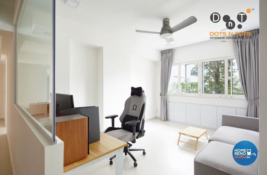 Minimalist Design - Living Room - HDB 5 Room - Design by Dots n Tots Interior Pte Ltd