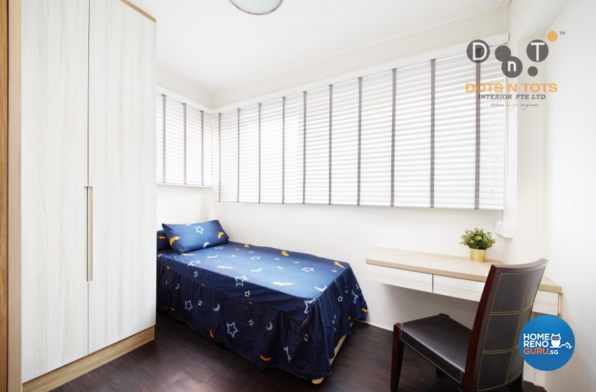 Contemporary, Scandinavian Design - Bedroom - HDB 5 Room - Design by Dots n Tots Interior Pte Ltd