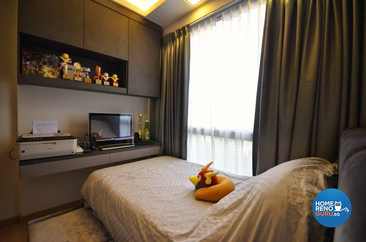 Contemporary, Modern Design - Bedroom - Condominium - Design by DreamCreations Interior Pte Ltd