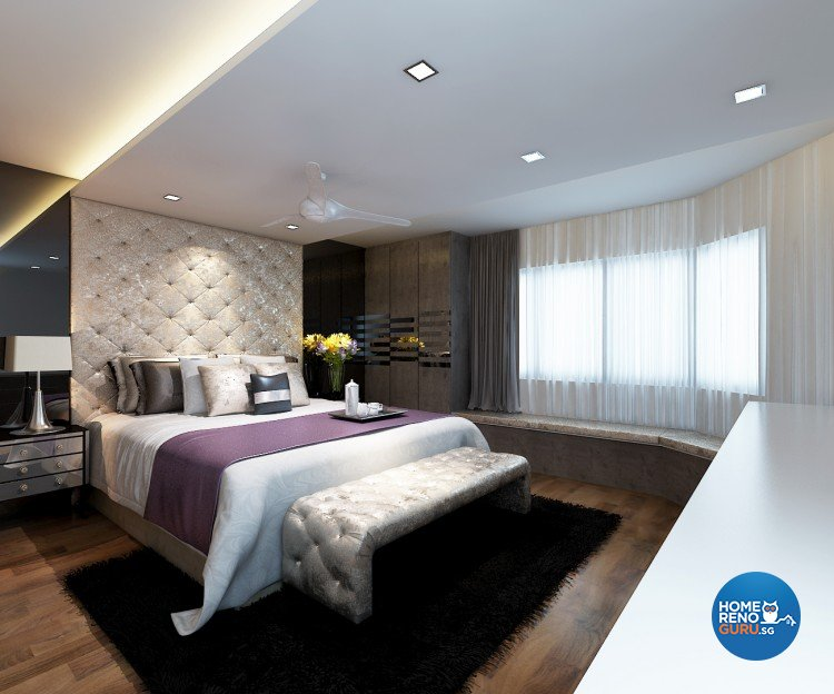 Contemporary, Modern Design - Bedroom - Condominium - Design by DreamCreations Interior Pte Ltd