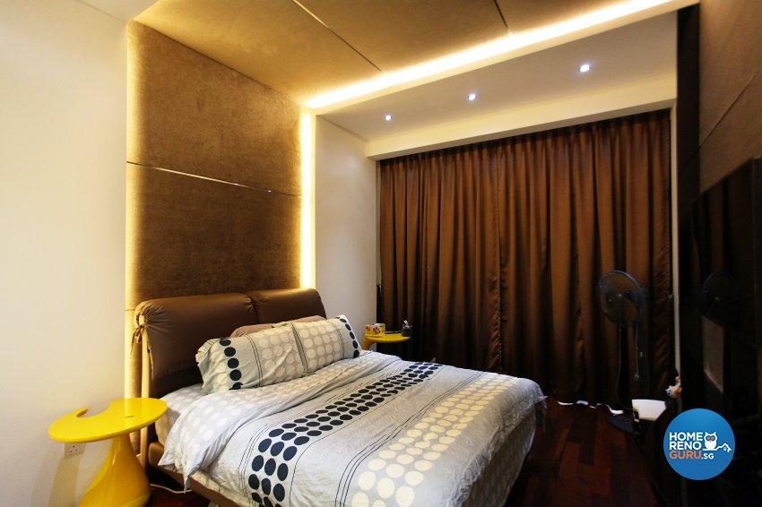 Contemporary, Modern, Scandinavian Design - Bedroom - Landed House - Design by Dreamvision Designer Pte Ltd