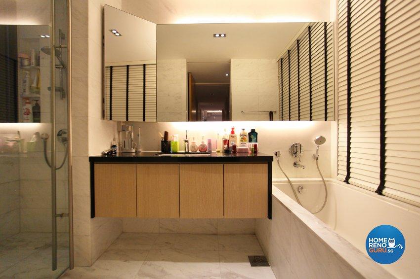 Contemporary, Modern, Scandinavian Design - Bathroom - Landed House - Design by Dreamvision Designer Pte Ltd