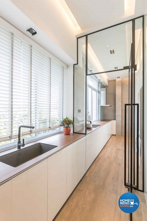 Contemporary Design - Kitchen - Condominium - Design by Dreamvision Designer Pte Ltd