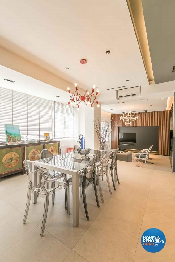 Contemporary Design - Dining Room - Condominium - Design by Dreamvision Designer Pte Ltd