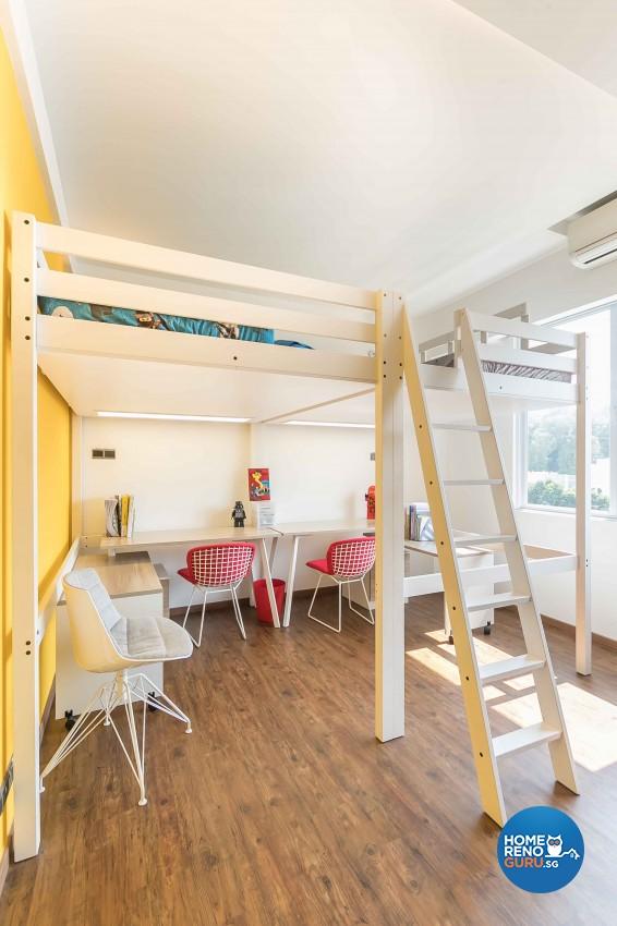 Contemporary Design - Bedroom - Condominium - Design by Dreamvision Designer Pte Ltd
