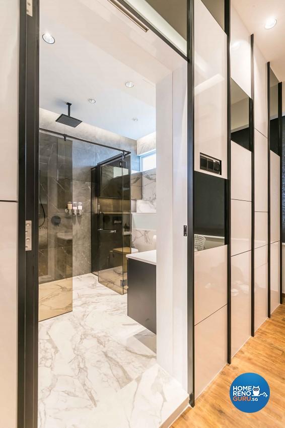 Contemporary Design - Bathroom - Condominium - Design by Dreamvision Designer Pte Ltd