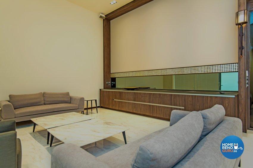 Contemporary, Industrial, Mediterranean Design - Study Room - HDB 5 Room - Design by Dreamvision Designer Pte Ltd