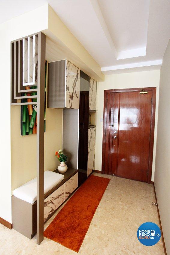 Classical, Contemporary, Scandinavian Design - Living Room - HDB 5 Room - Design by Dreamvision Designer Pte Ltd