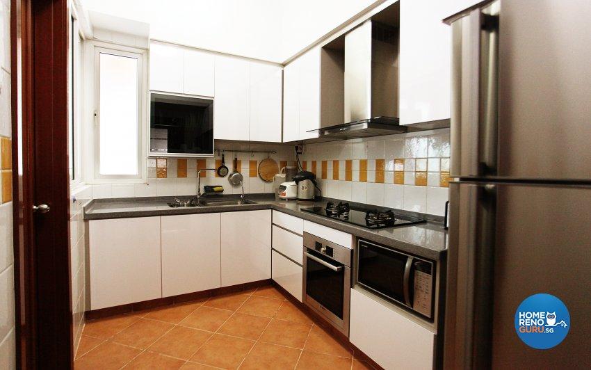 Classical, Contemporary, Scandinavian Design - Kitchen - HDB 5 Room - Design by Dreamvision Designer Pte Ltd