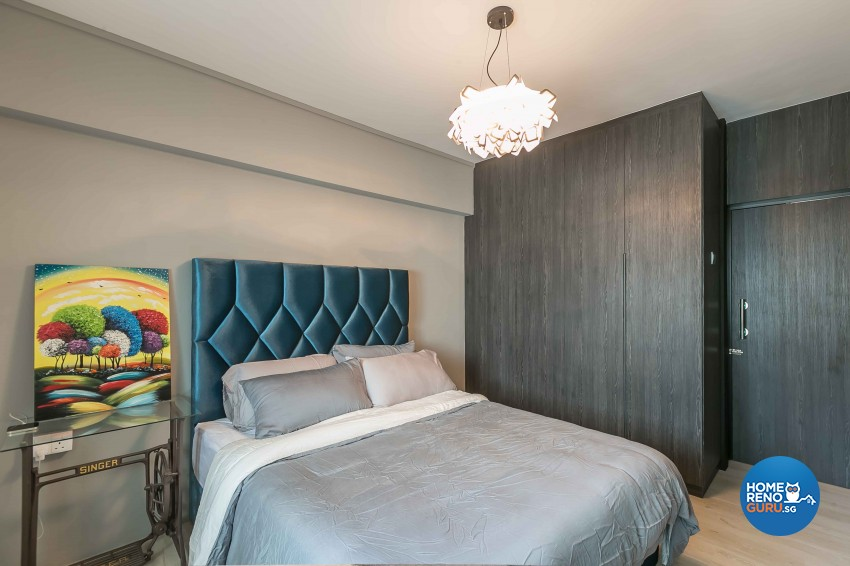 Contemporary, Modern Design - Bedroom - HDB 3 Room - Design by Dreamvision Designer Pte Ltd