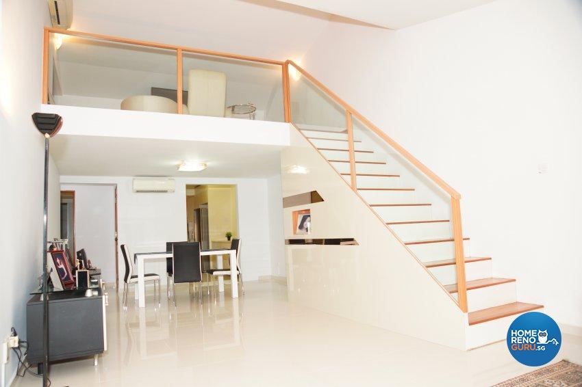 Contemporary, Minimalist Design - Dining Room - Landed House - Design by Dreamvision Designer Pte Ltd