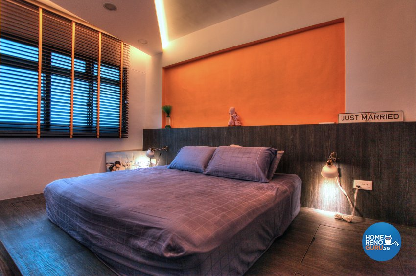 Contemporary, Eclectic, Modern Design - Bedroom - HDB 5 Room - Design by Dreamvision Designer Pte Ltd