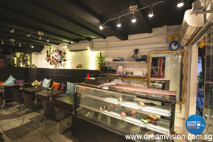Country, Industrial, Rustic Design - Commercial - Retail - Design by Dreamvision Designer Pte Ltd