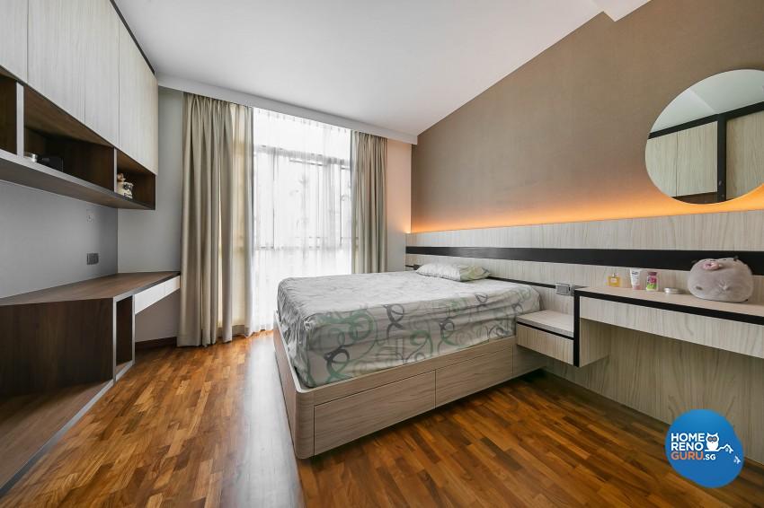 Modern Design - Bedroom - Condominium - Design by Dreamvision Designer Pte Ltd