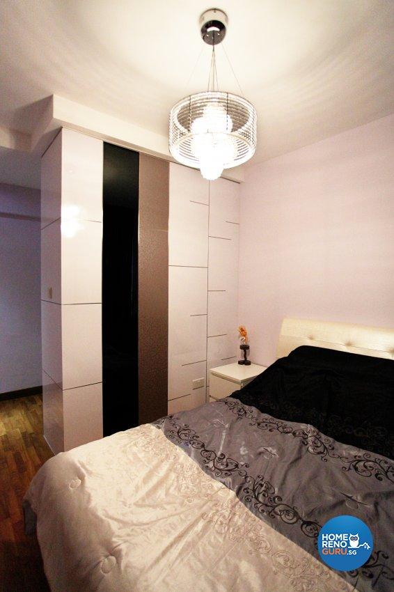 Contemporary, Modern, Oriental Design - Bedroom - HDB 5 Room - Design by Dreamvision Designer Pte Ltd