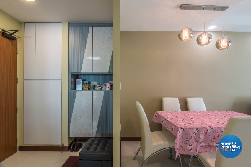 Classical, Contemporary, Modern Design - Dining Room - HDB 5 Room - Design by Dreamvision Designer Pte Ltd