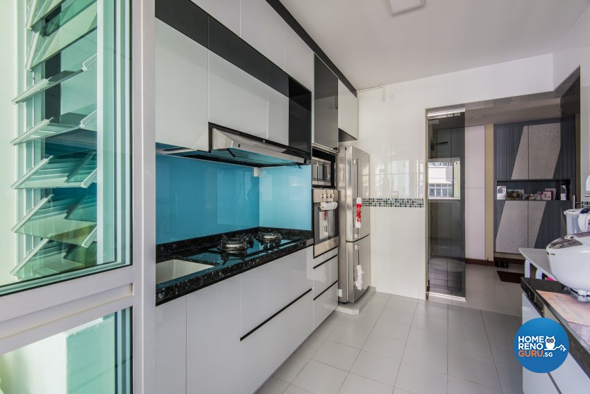 Classical, Contemporary, Modern Design - Kitchen - HDB 5 Room - Design by Dreamvision Designer Pte Ltd