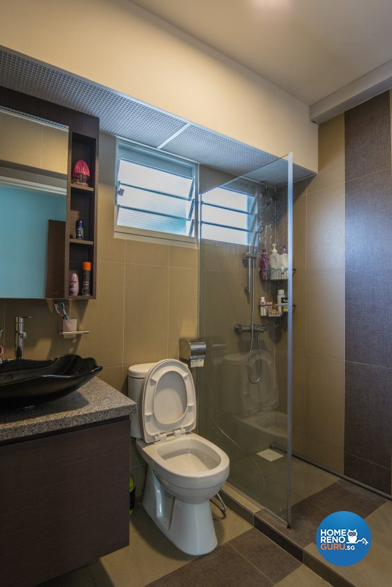 Classical, Contemporary, Modern Design - Bathroom - HDB 5 Room - Design by Dreamvision Designer Pte Ltd