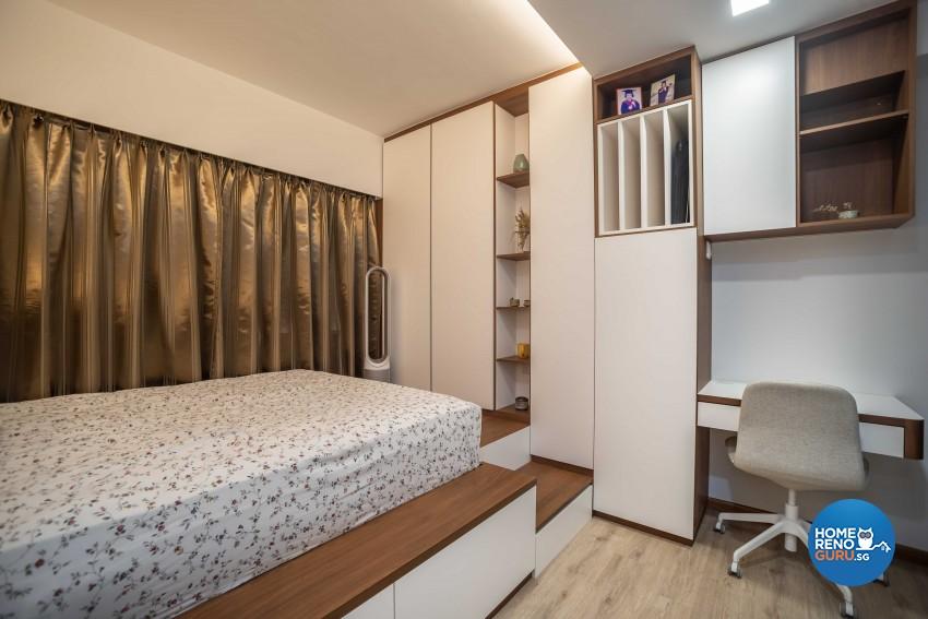 Modern Design - Bedroom - HDB 5 Room - Design by Dreamvision Designer Pte Ltd
