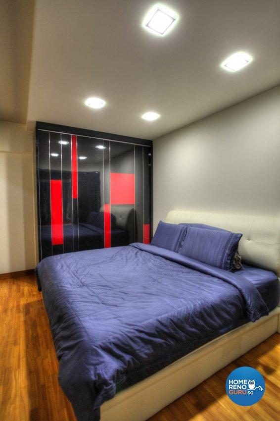 Contemporary, Modern Design - Bedroom - HDB 5 Room - Design by Dreamvision Designer Pte Ltd