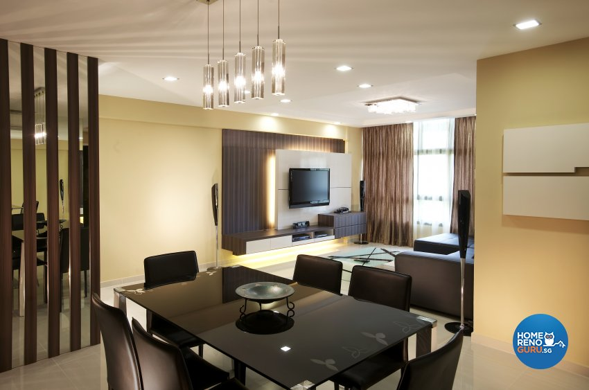 Contemporary, Modern, Scandinavian Design - Living Room - HDB 5 Room - Design by Dreamvision Designer Pte Ltd