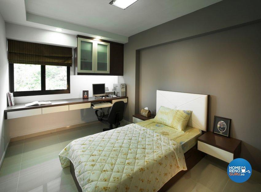 Contemporary, Modern, Scandinavian Design - Bedroom - HDB 5 Room - Design by Dreamvision Designer Pte Ltd