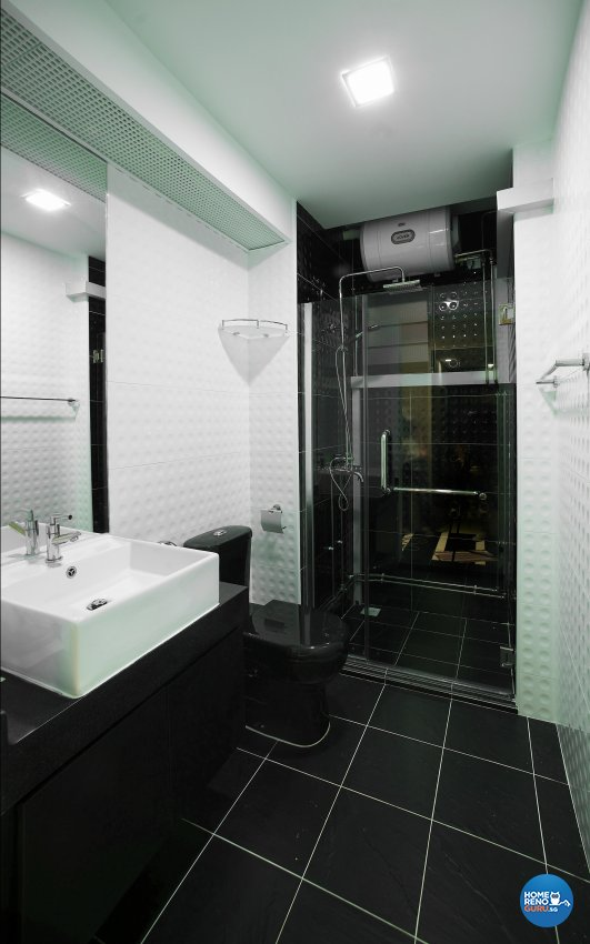Contemporary, Modern, Scandinavian Design - Bathroom - HDB 5 Room - Design by Dreamvision Designer Pte Ltd