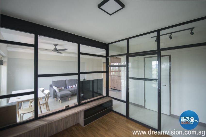 Classical, Modern, Scandinavian Design - Study Room - Condominium - Design by Dreamvision Designer Pte Ltd