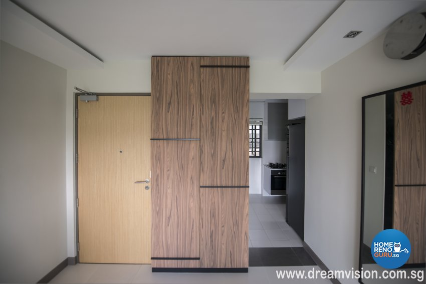 Classical, Modern, Scandinavian Design - Bedroom - Condominium - Design by Dreamvision Designer Pte Ltd