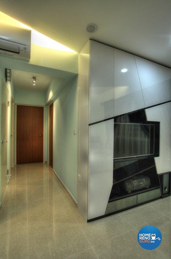 Classical, Contemporary, Modern Design - Living Room - HDB 5 Room - Design by Dreamvision Designer Pte Ltd