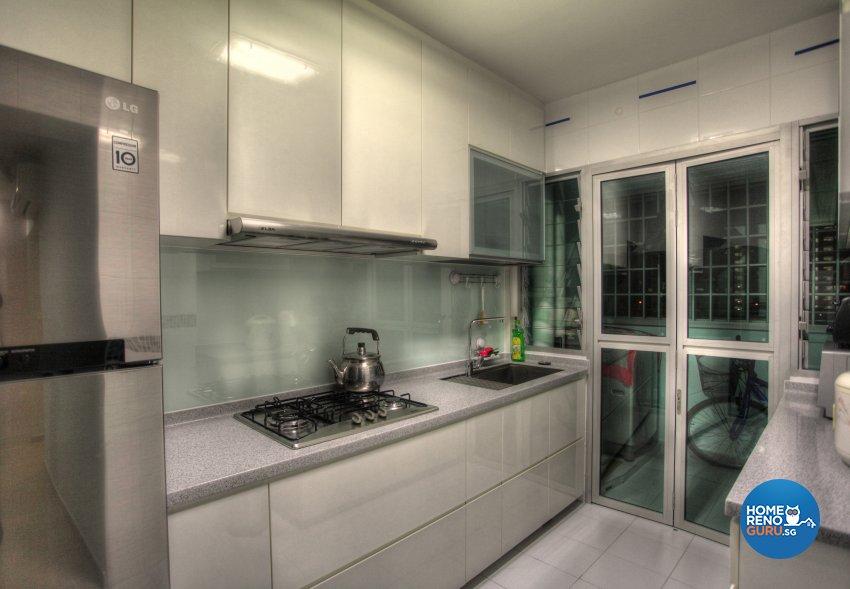 Classical, Contemporary, Modern Design - Kitchen - HDB 5 Room - Design by Dreamvision Designer Pte Ltd
