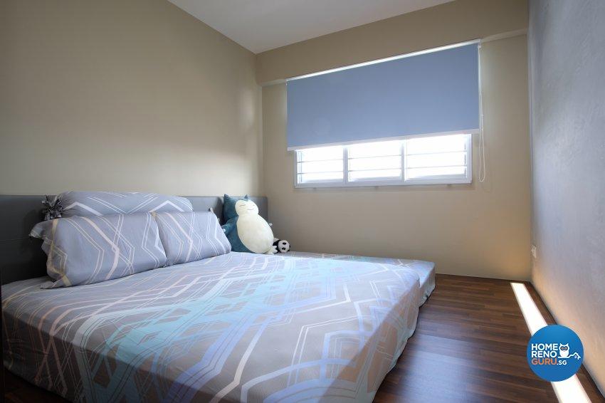 Contemporary, Scandinavian Design - Bedroom - HDB 5 Room - Design by Dreamvision Designer Pte Ltd