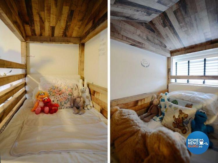 Scandinavian Design - Bedroom - Condominium - Design by Dreamvision Designer Pte Ltd