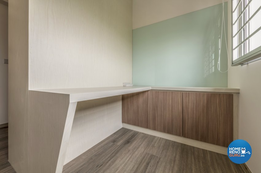 Contemporary, Modern Design - Study Room - HDB 4 Room - Design by DS 2000 Interior & Design