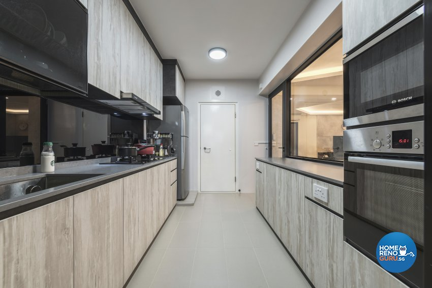 Industrial, Modern Design - Kitchen - HDB 5 Room - Design by DS 2000 Interior & Design