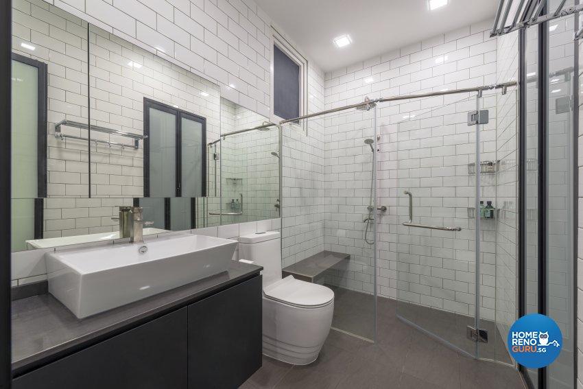 Contemporary Design - Bathroom - Condominium - Design by DS 2000 Interior & Design