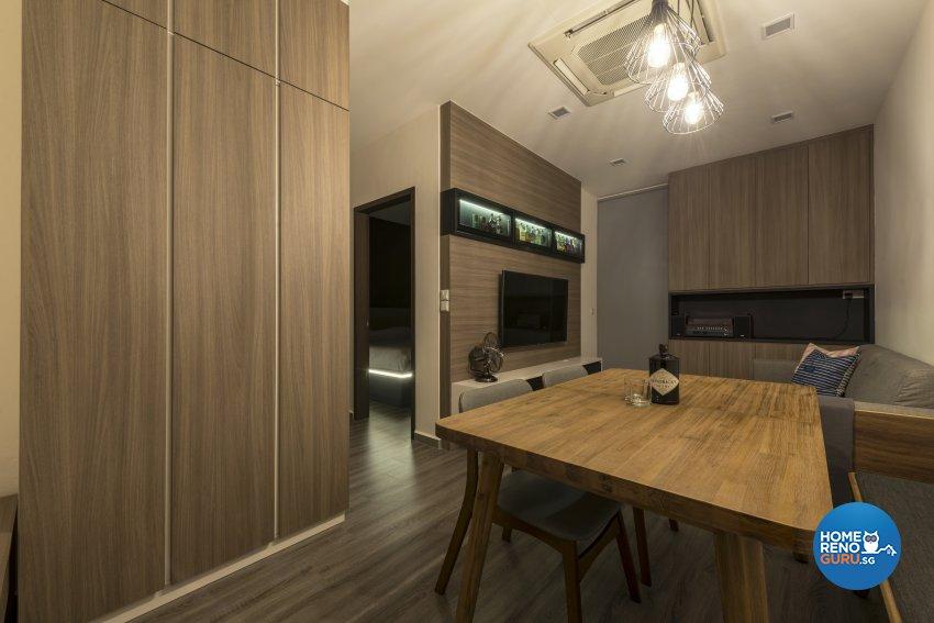 Contemporary Design - Living Room - Condominium - Design by DS 2000 Interior & Design
