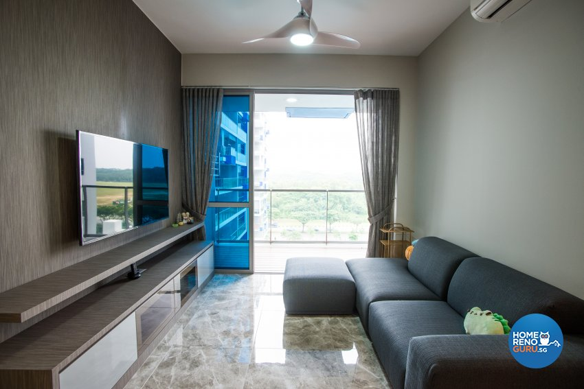 Modern Design - Living Room - Condominium - Design by DS 2000 Interior & Design