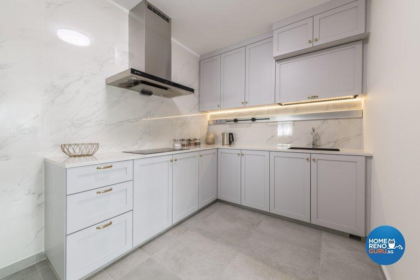 Classical, Modern Design - Kitchen - HDB 4 Room - Design by DS 2000 Interior & Design
