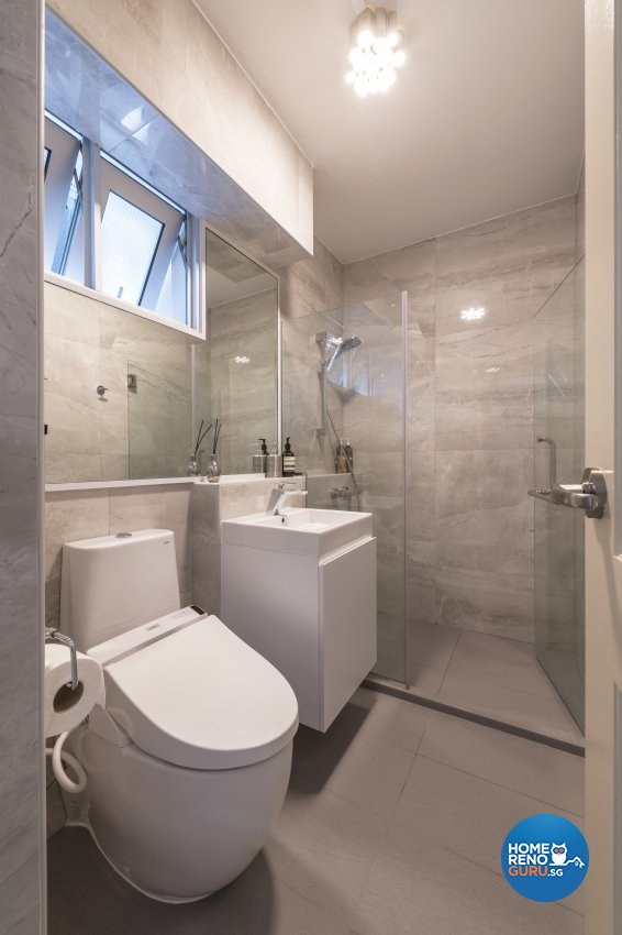 Classical, Modern Design - Bathroom - HDB 4 Room - Design by DS 2000 Interior & Design