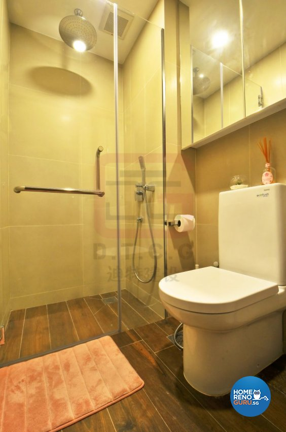 Contemporary, Modern, Resort Design - Bathroom - Condominium - Design by DT construction group Pte ltd