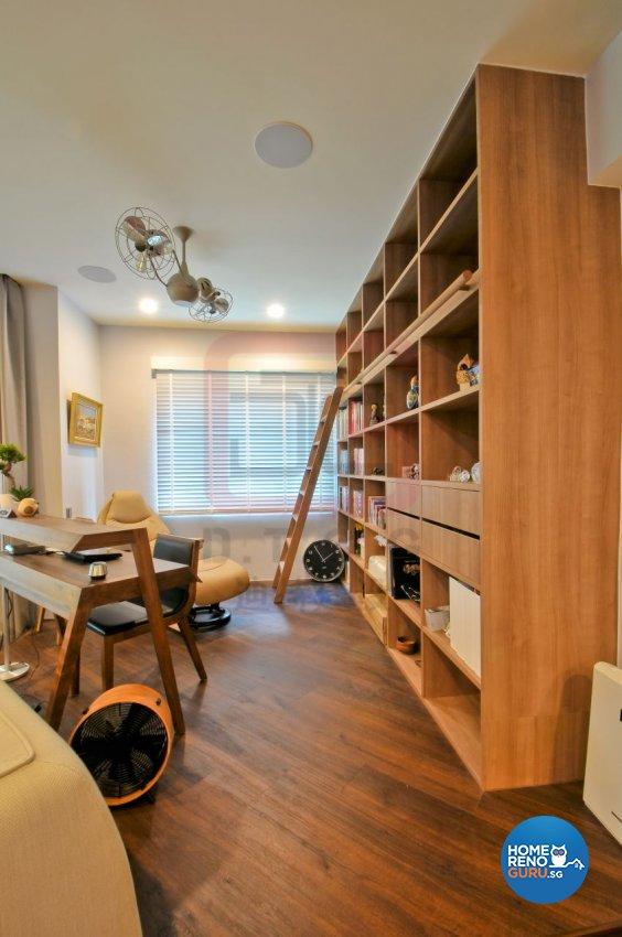 Contemporary, Modern, Resort Design - Study Room - Condominium - Design by DT construction group Pte ltd