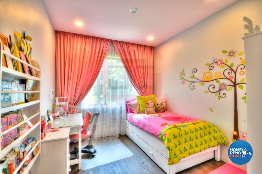Contemporary, Modern, Resort Design - Bedroom - Condominium - Design by DT construction group Pte ltd