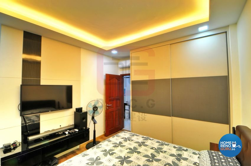 Country, Vintage Design - Bedroom - HDB 3 Room - Design by DT construction group Pte ltd