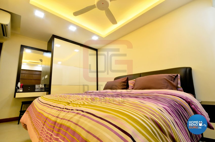 Contemporary, Minimalist Design - Bedroom - HDB 4 Room - Design by DT construction group Pte ltd