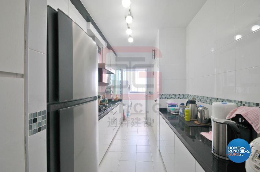 Contemporary, Minimalist, Modern Design - Kitchen - HDB 4 Room - Design by DT construction group Pte ltd