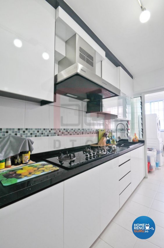 Contemporary, Minimalist, Modern Design - Kitchen - HDB 4 Room - Design by DT construction group Pte ltd
