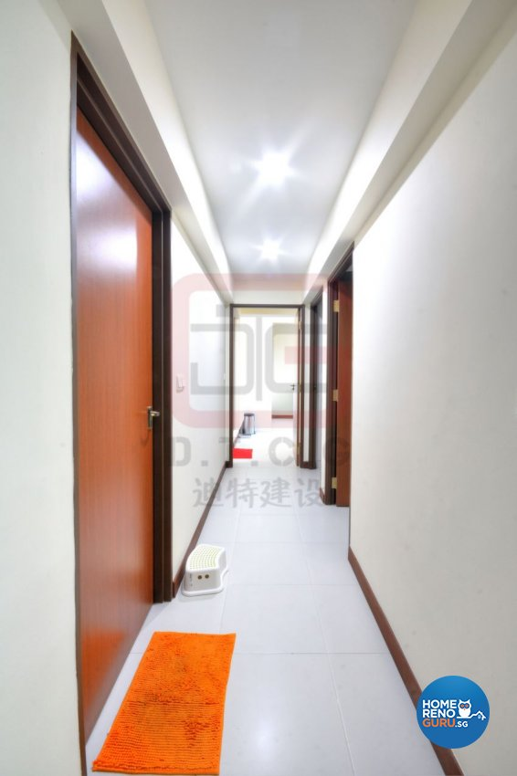 Contemporary, Minimalist, Modern Design - Bedroom - HDB 4 Room - Design by DT construction group Pte ltd